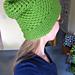Mesh Lace Slouchy Hat pattern