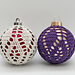 Christmas Ornament Cover #2 pattern