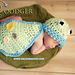 Froggy- Cuddle Critter Cape - Newborn photo prop pattern
