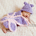 Butterfly Cuddle Critter Cape-Newborn Photography Prop pattern