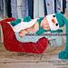 Snowman - Cuddle Cape Set- Nb Prop pattern