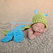 Dragonfly Cuddle Critter Cape Set pattern
