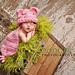 Pink Piggy - Cuddle Critter Cape pattern