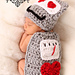 Love Machine - Cuddle Cape Nb Photo Prop pattern
