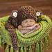Chunky Monkey Cuddle Critter Cape - Photo Prop pattern