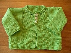 Green Baby Sweater