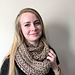 The Coz-E Bear Hug Infinity Scarf pattern