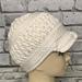 Natalie Textured Brim Hat pattern