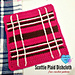 Scottie Plaid Dishcloth pattern