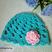 Easy Peasy Baby Beanie pattern