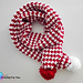 Peppermint Houndstooth Scarf pattern