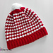Peppermint Houndstooth Hat pattern