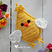 Little Spring Chick Amigurumi pattern