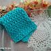 Mini Bean Stitch Dishcloth pattern