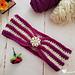 Striped Delight Headband pattern