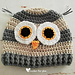 Woodland Owl Hat pattern