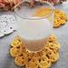 Marigold Lace Coasters pattern