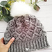 Bavarian Stitch Beanie pattern