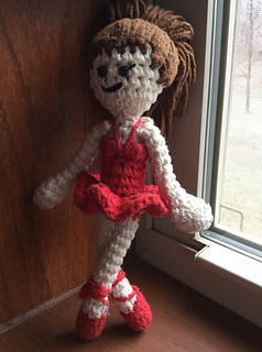 Hand Made Crochet Mouse Toy Angelina Ballerina   Etsy   320x238