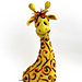 Sunny giraffe pattern