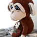Sad monkey pattern