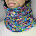 Diamond Cable Cowl pattern