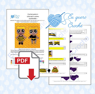 Tom, o leão – Receita de Amigurumi em PDF – Two Bee   319x320