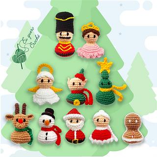 Rena decoração de Natal amigurumi. - YouTube | 319x320