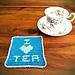 I Love Tea Coaster pattern