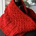 Red Rasta Cowl pattern