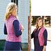 Foxglove Vest pattern