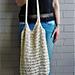 Lacey Market Tote Bag pattern
