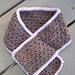 Toddler Scarflette pattern
