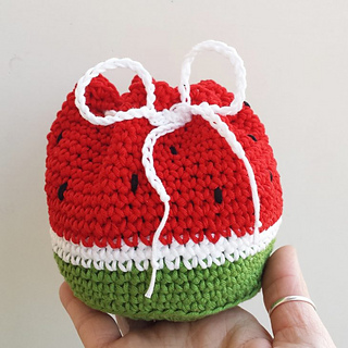 Crochet Watermelon Amigurumi - Free Patterns - DIY 4 EVER | 320x320