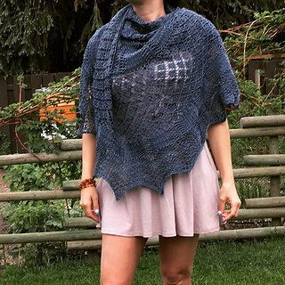 Sample Knit in Sweet Fiber Colourway Denim