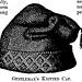 Gentleman's Knitted Night Cap pattern