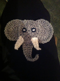Baby Elephant Crochet Tutorial - Crochet Applique Tutorial - YouTube | 320x235