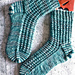 Socken mit Struktur pattern