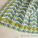 Rolling Ridge Blanket pattern