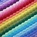 Chasing Rainbows Blanket pattern