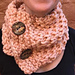Twisted Seed Stitch Cowl pattern