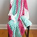 Fluffy Granny C2C Blanket pattern