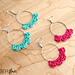 Caribbean Wave Hoop Earrings pattern