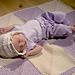 Mitered Square Baby Blanket pattern