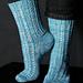 Saturn Landing Sock pattern