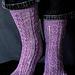 Continental Divide Socks pattern