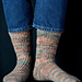 Pinnacles Socks pattern