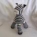 Zeke, baby zebra pattern