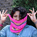 Mad Bee Cowl pattern