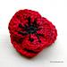 Red Poppy pattern